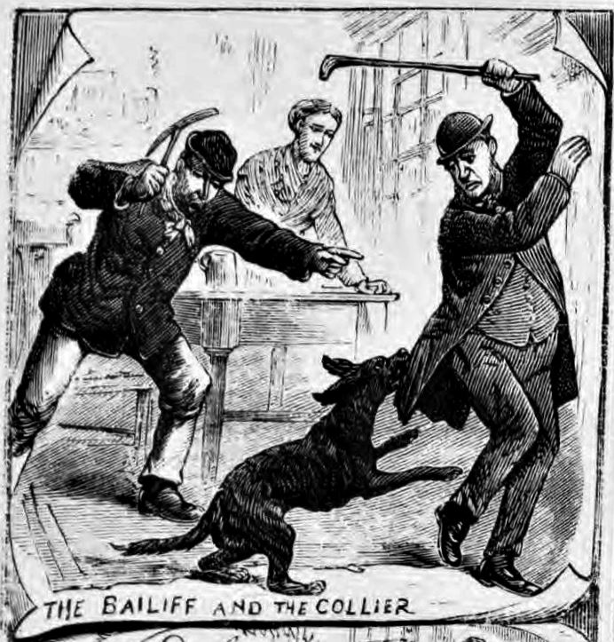 The bailiff and the collier